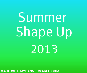 Summer Shape Up Banner